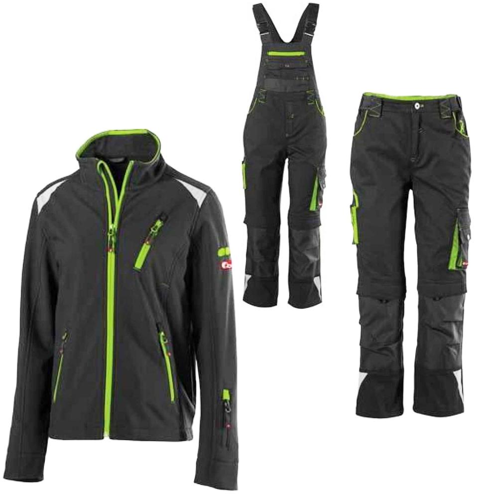 info for 66501 0d637 Details zu Fortis Kinder Arbeitskleidung Latzhose Arbeitshose  Softshelljacke Arbeitsjacke