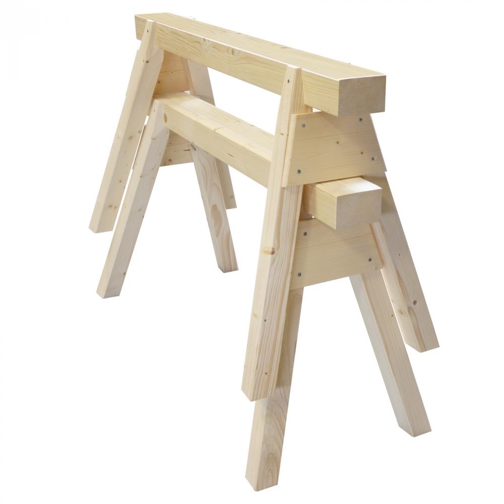 1 paar profi holzbock zimmererbock arbeitsbock st tzbock. Black Bedroom Furniture Sets. Home Design Ideas