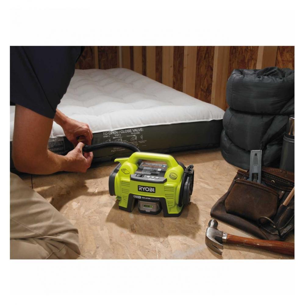 ryobi akku kompressor set r18i l13 pumpe r18i 0 liion akku. Black Bedroom Furniture Sets. Home Design Ideas