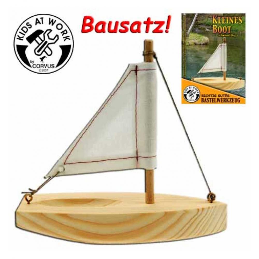 holzboot klein kinder spielzeug kinderwerkzeug corvus ebay. Black Bedroom Furniture Sets. Home Design Ideas