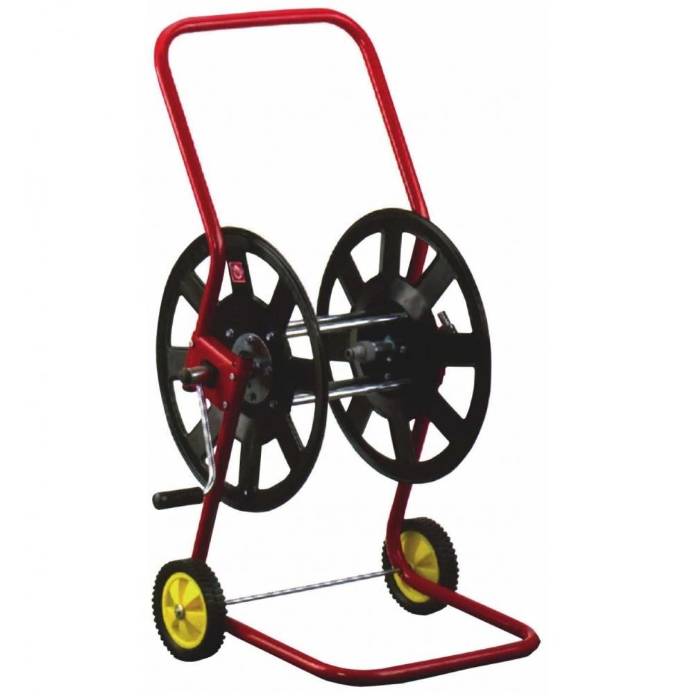 knauthe schlauchwagen metall f r gartenschlauch trommel in fahrtrichtung. Black Bedroom Furniture Sets. Home Design Ideas